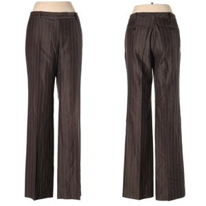 Brooks Brothers Lucia Fit Trousers in Brown